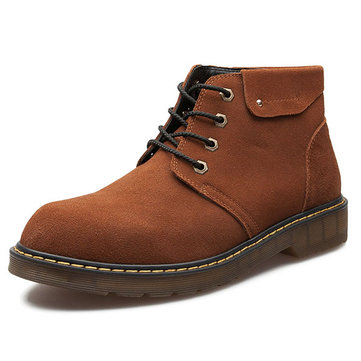 Men Large Size Wear-resistant Ankle Boots