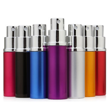 Mini Refillable Perfume Bottle Empty Parfum Bottle Traveler Aluminum Spray Atomizer