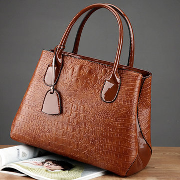 Crocodile High-End Handbag