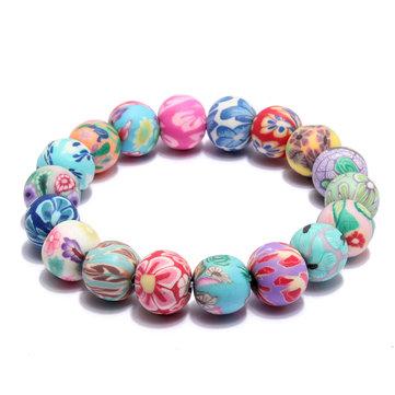 Красочные браслеты из бисера из бисера