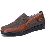 Chaussures Homme Pointure Large en Textile Style Ancien Beijing